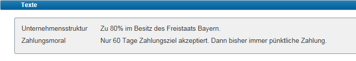 SAP mobile Funktionen Langtexte